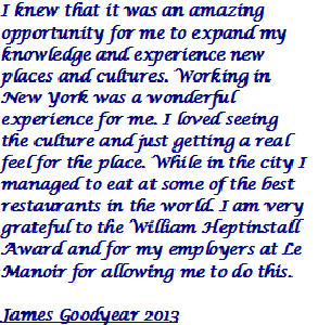 James Goodyear 2013 Quote