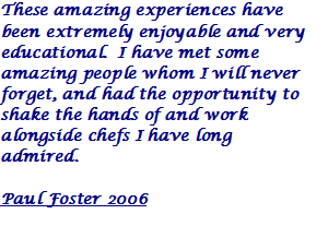 Paul Foster 2006 Quote