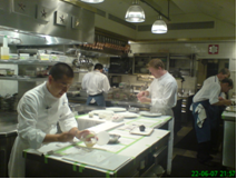 Paul Foster 2006 The French Laundry Kitchen