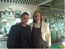 Paul Foster 2006 with Wylie Dufresne